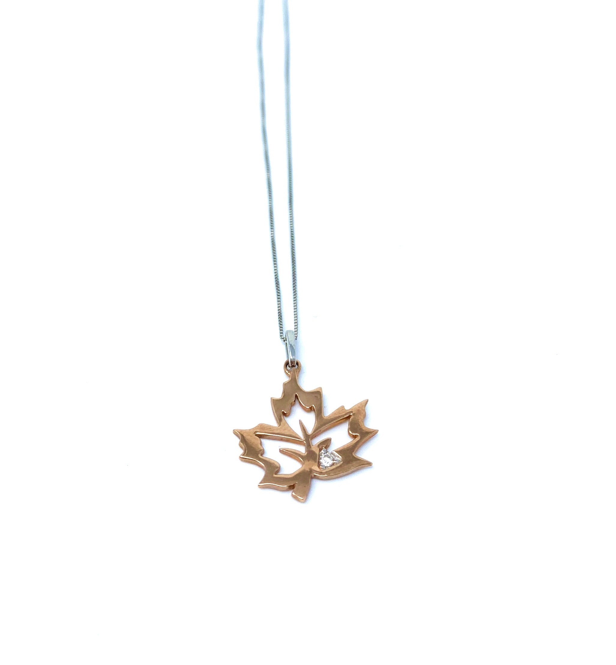 Canadian Diamond Pendant