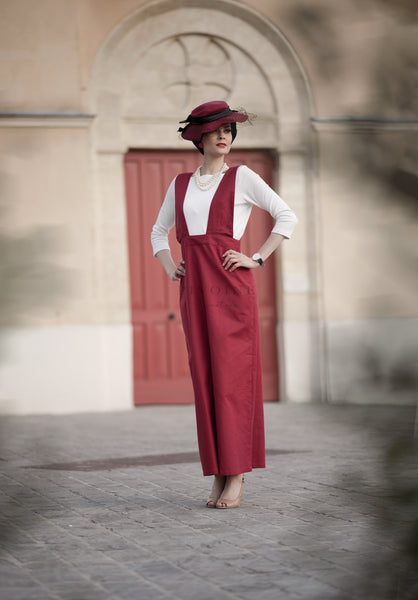Robe Lilly Bordeaux