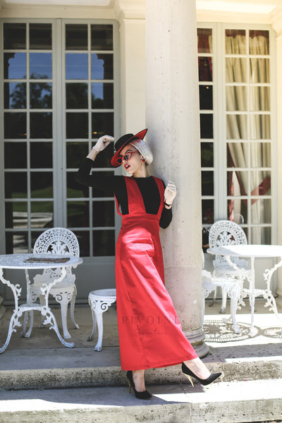Robe Lilly Rouge