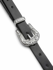 BELTS Double Buckle Western Belt - EK CHIC