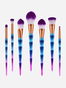 MAKE UP BRUSHES Ombre Makeup Brush 7pcs - EK CHIC