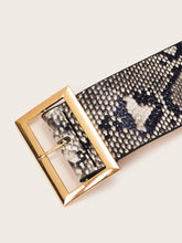 Load image into Gallery viewer, BELTS Snakeskin Pattern Belt - EK CHIC
