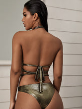 Load image into Gallery viewer, SWIMWEAR Criss Criss Ring Linked One Piece Swimwear - EK CHIC