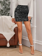Load image into Gallery viewer, SKIRTS Sequin Bodycon Mini Skirt - EK CHIC