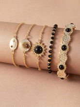 Load image into Gallery viewer, JEWELRY 5pcs Bead Decor Bracelet Set - EK CHIC
