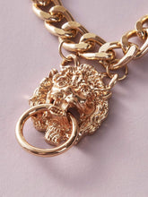 Load image into Gallery viewer, JEWELRY 1pc Lion Head Chain Necklace - EK CHIC