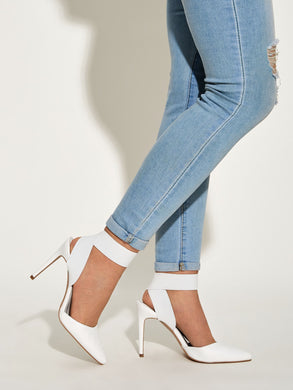 SHOES Point Toe Stiletto Heels - EK CHIC