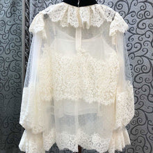 Load image into Gallery viewer, Fashion Lace Vintage Style  Blouse - EK CHIC