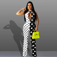Load image into Gallery viewer, JUMPSUITS Polka Dots Sexy Jumpsuit - EK CHIC