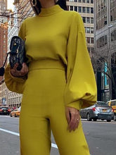 Load image into Gallery viewer, JUMPSUITS Elegant Fashion Slim Fit Yellow Jumpsuits - EK CHIC