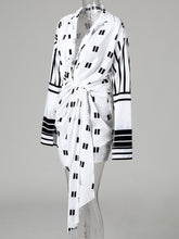 Load image into Gallery viewer, DRESS Leisure Asymmetrical Midi Casual Shirt Dress - EK CHIC