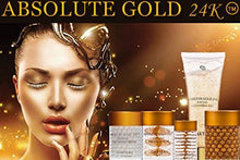 Load image into Gallery viewer, 24K GOLD NIGHT CREAM Absolute Gold 24 Karat Intensive Night Cream, Silk Peptides and Hyaluronic Acid - EK CHIC