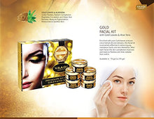 Load image into Gallery viewer, 24K GOLD FACIAL KIT Facial Kit With 24 Carat Gold Leaves For All Skin Unisex 70 Grams - EK CHIC