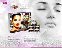 Load image into Gallery viewer, SILVER FACIAL KIT Silver Facial Kit With Pure Silver Dust For All Skin Types 70 Grams - EK CHIC