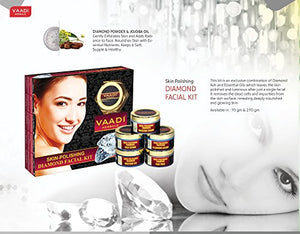 DIAMOND FACIAL KIT Diamond Facial Kit For All Skin Types And Both For Men And Women 70 Grams - EK CHIC