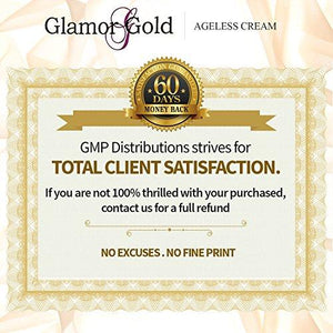 24K GOLD FACE CREAM 24K Gold Ageless Cream- Anti-Aging Skincare for Fine Lines and Wrinkles - EK CHIC