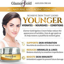 Load image into Gallery viewer, 24K GOLD FACE CREAM 24K Gold Ageless Cream- Anti-Aging Skincare for Fine Lines and Wrinkles - EK CHIC