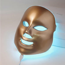 Load image into Gallery viewer, GOLD LED MASK GOLD - 7 Colors Led Facial Mask - Photon Therapy Skin Care - EK CHIC