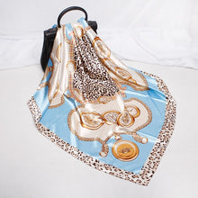Load image into Gallery viewer, SCARF Animal Print Silk Luxe Scarf - EK CHIC