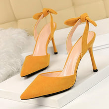 Load image into Gallery viewer, SHOES Elegant Butterfly Women Pumps - Pointed Toe High Heels - EK CHIC
