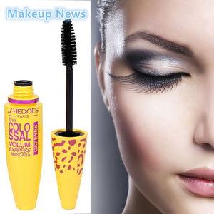 MASCARA COLOSSAL Mascara With Collagen Cosmetic Extension Long Curling Waterproof - EK CHIC