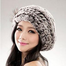 Load image into Gallery viewer, HAT Rex Rabbit Fur Hat - 100% Genuine - EK CHIC