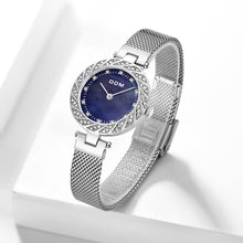 Load image into Gallery viewer, WATCH SILVER Luxury Women Quartz Waterproof Watch - EK CHIC