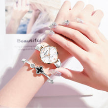 Load image into Gallery viewer, WATCH Genuine Leather Quartz Casual 3ATM Waterproof Wristwatch - EK CHIC