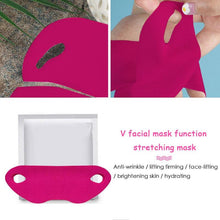 Load image into Gallery viewer, FACIAL LIFTING MASK Facial Lifting Mask V Shape Bandage Beauty - EK CHIC