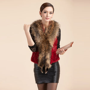 FUR VEST Luxury Genuine Fur Vest (One Size) - EK CHIC