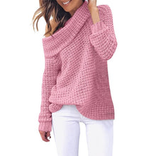 Load image into Gallery viewer, WOMEN'S SWEATER High Neck Women's Turtleneck Casual Sweater - EK CHIC