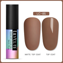 Load image into Gallery viewer, NAIL GEL Matte Gel Polish Soak Off UV LED Gel -Long Lasting - EK CHIC