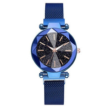 Load image into Gallery viewer, WOMEN WATCH Starry Sky Stainless Steel Mesh Bracelet Watch - EK CHIC