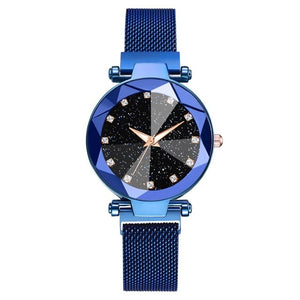 WOMEN WATCH Starry Sky Stainless Steel Mesh Bracelet Watch - EK CHIC