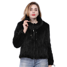 Load image into Gallery viewer, FUR Luxury 100% Genuine Knitted Mink Fur Coat - EK CHIC