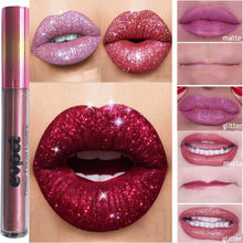 Load image into Gallery viewer, GLITTER LIPGLOSS Glitter Lip-gloss Makeup Waterproof Cosmetics - EK CHIC