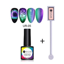 Load image into Gallery viewer, NAIL GEL 9D Galaxy Cat Eye Nail Gel Chameleon Magnetic Soak Off - EK CHIC