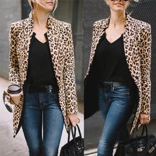 Load image into Gallery viewer, LEOPARD COAT Leopard Printed Sexy Winter Warm Wide Jackets - EK CHIC
