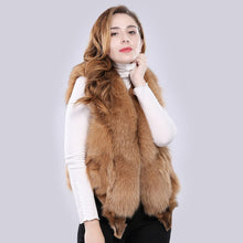 Load image into Gallery viewer, FUR VEST Fox Fur Full Pelt Luxury Vest - EK CHIC