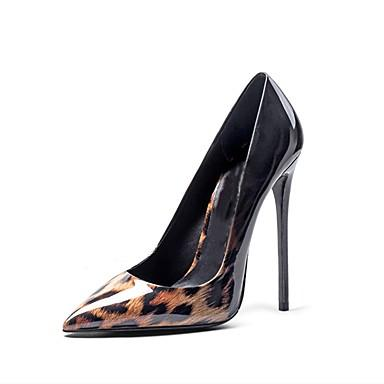 SHOES Women's Heels Stiletto Heel Pointed Toe Leopard - EK CHIC