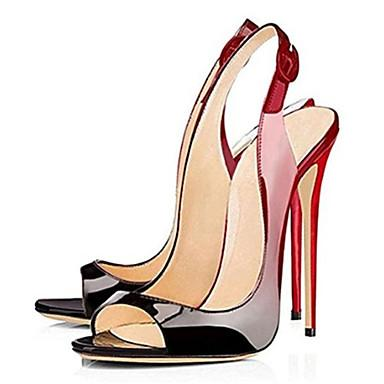 SHOES Women's Heels Stiletto - Peep Toe Shoes - EK CHIC