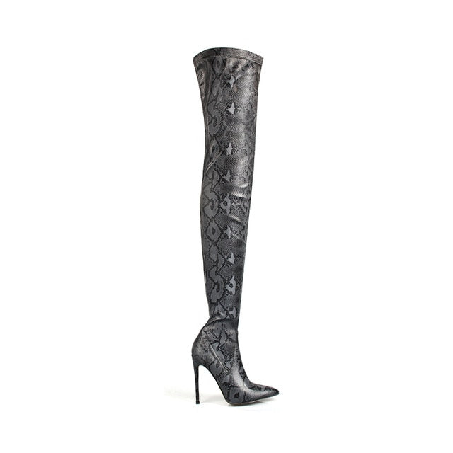 Thigh High Over the Knee Boots - EK CHIC