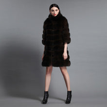 Load image into Gallery viewer, Luxury  Genuine Sable  Fur Coat - EK CHIC