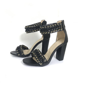 shoes Ankle Strap High Heels Women Sandals - EK CHIC