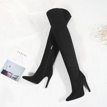 Load image into Gallery viewer, Over The Knee Pointed Toe  Boots - EK CHIC