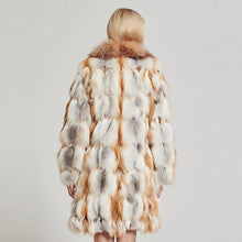 Load image into Gallery viewer, Red Fox Fur with Big Fox Collar - EK CHIC
