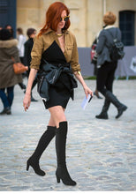 Load image into Gallery viewer, Fashion Over The Knee Winter Boots - EK CHIC