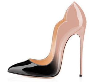 shoes New Fashion Mixed Colors High Heel Shoes - EK CHIC