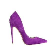 Load image into Gallery viewer, SHOES Purple Extreme High Heels Pointed Toe Shoes - EK CHIC