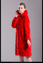 Load image into Gallery viewer, FUR COAT Luxury Natural Mink Fur Elegant Fur Coat - EK CHIC